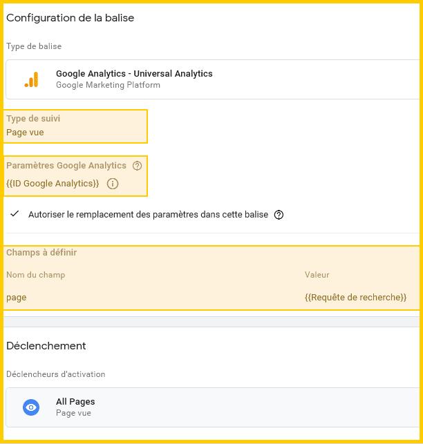 Création de page Virtuelle - Google Tag Manager