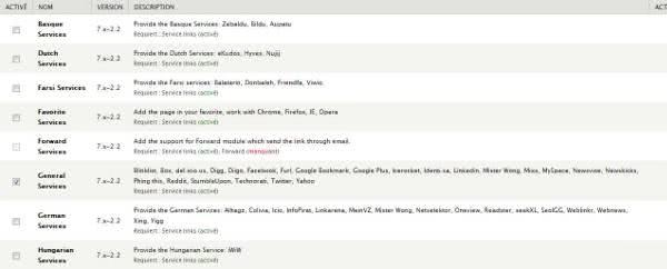 liste des réseaux sociaux