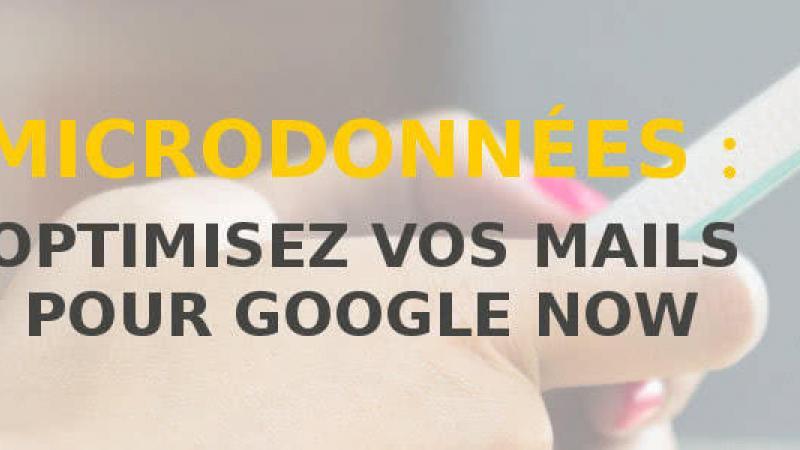 Microdonnées et Google Assistant